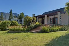 Guest house in Swellendam area Royalty Free Stock Images