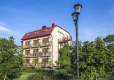 Guest House. On the waterfront of the Azov Sea Stock Photo