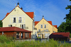 Guest houses in the Kaliningrad region, Russia Royalty Free Stock Photo