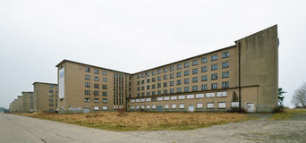 Guest houses in KdF seaside resort Prora Royalty Free Stock Image