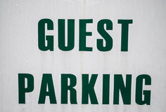 Guest parking Stock Photos