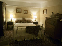 Guest room in a Bed and Breakfast Royalty Free Stock Images