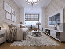 Guest room modern style Royalty Free Stock Images