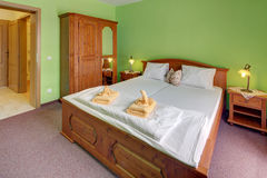 Guest-room stock image