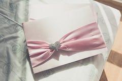 Guestbook di nozze Immagine Stock
