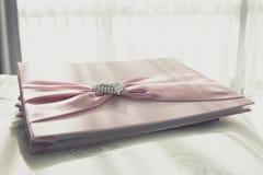 Guestbook di nozze Immagini Stock Libere da Diritti