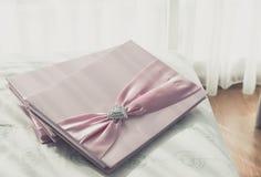 Guestbook di nozze Immagini Stock