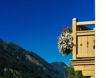 Guesthouse στην ήρεμες θέση, τα βουνά και τη φύση, Αυστρία Στοκ Φωτογραφία