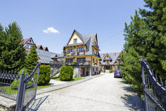 Guesthouse called Danielka in Zakopane, Poland Royalty Free Stock Photography