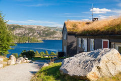 Guesthouse in Norway Royalty Free Stock Photo
