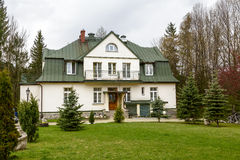 Guesthouse U Brzechwy former Orlik in Zakopane Stock Photo