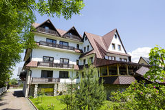 Guesthouse in Zakopane, Poland Royalty Free Stock Image