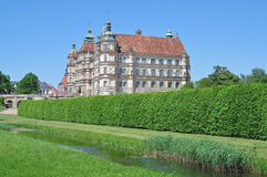 Guestrow Castle,Mecklenburg Lake District,Germany. Guestrow Castle in Mecklenburg Lake District,mecklenburg western pomerania,germany Royalty Free Stock Images