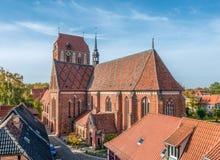 Guestrow katedra Fotografia Stock