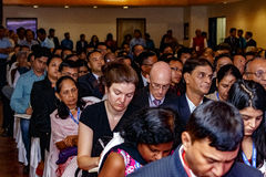 Guests at the IIJS 2015 Inaugration Stock Photo