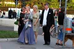 Guests at the 2015 Life Ball Vienna Royalty Free Stock Photography