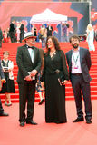 Guests of Moscow Film Festival Royalty Free Stock Images