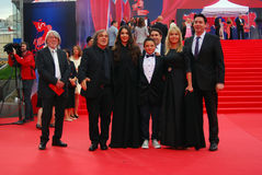 Guests of Moscow Film Festival Stock Image