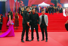 Guests of Moscow Film Festival Royalty Free Stock Image