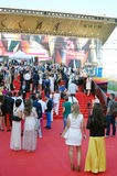 Guests at Moscow Film Festival Stock Photography