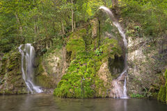 Gueterstein waterfall Royalty Free Stock Photography