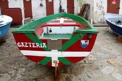 Guethary баскская страна стоковая фотография