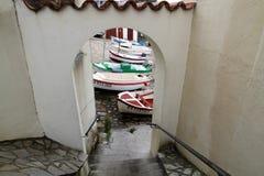Guethary baskijski kraj fotografia stock