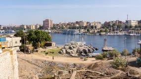 Gueto egípcio, uma vista de fotos de stock royalty free