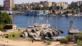 Gueto egípcio, uma vista de foto de stock royalty free