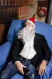 Gueule de bois de Noël Photos stock