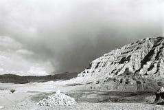guge王国废墟 免版税库存图片