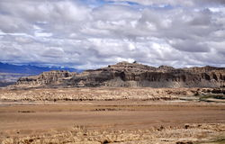 Guge Heritage. Was an ancient kingdom in Western Tibet. The kingdom was centered in present-day Zanda County, within Ngari Prefecture of Tibet Stock Photo