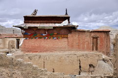 Guge Heritage. Was an ancient kingdom in Western Tibet. The kingdom was centered in present-day Zanda County, within Ngari Prefecture of Tibet Stock Photography