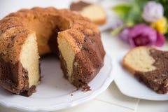 Gugelhupf Sponge Cake Stock Photos