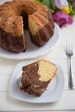 Gugelhupf Sponge Cake Stock Image