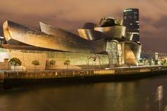Guggenheim Museum and Iberdrola Tower Royalty Free Stock Photo
