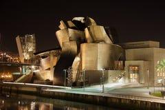 Guggenheim博物馆在毕尔巴鄂 库存图片