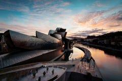 Guggenheim Бильбао Испания Стоковое Изображение RF