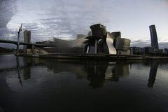 Guggenheim Бильбао в Испании Стоковое фото RF