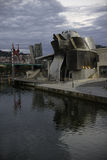Guggenheim Бильбао в Испании Стоковое Изображение RF