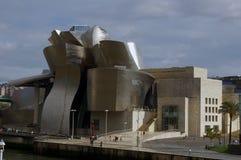 Guggenheim Bilbao. royalty-vrije stock afbeeldingen