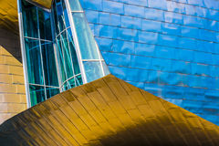 Guggenheim Bilbao close-up Stock Photos