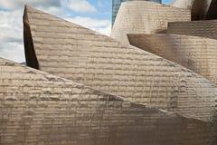 Guggenheim Bilbao detail Stock Images