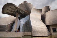 Guggenheim Bilbao entrance Royalty Free Stock Image