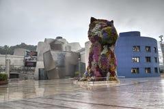 Guggenheim Bilbao, Espanha Imagem de Stock Royalty Free