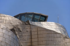 Guggenheim Bilbao Museoa roof Stock Photography