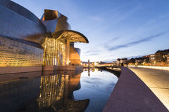 Guggenheim Bilbao Royalty Free Stock Images