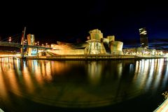 The Guggenheim Bilbao Stock Photo