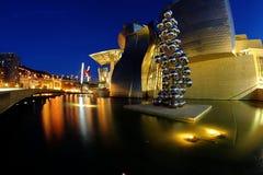 The Guggenheim Bilbao stock image