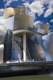 Guggenheim Bilbao museumkorridor Royaltyfria Bilder